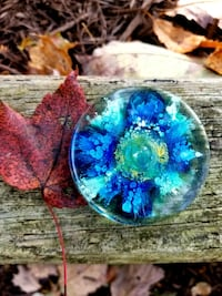 Paperweight / Coaster - Resin Abstract Fluid Art   Montclair, 22025