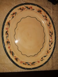 Italian OVAL SERVING PLATTER, by Furio - Price Negotiable, Make Offer Charlotte, 37036