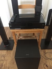 Sony 3d blu ray home theater system Markham, L3T 3H3