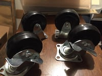 two black-and-gray dumbbells Des Moines, 98198