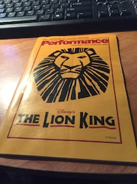 THE PRINCESS OF WALES THEAATURE DECEMBER 2002-FEBRUARY 2003 THE LION KING