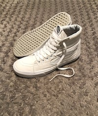 Men's Vans hi-top paid $80 size 9 women's size 10.5 Color white had very minor discoloration other then that good condition  Washington, 20002