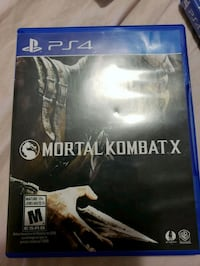 PS4 game Mortal Kombat X Winnipeg, R2X 2J5