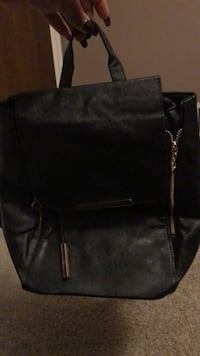 black leather 2-way bag Golf Manor, 45237