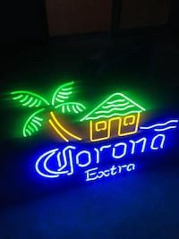 Large lighted corona sign Billerica, 01821