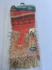 Moana's Adventure outfit for 3+, fits sizes 4-6X-NEW. Rancho Cordova, 95827