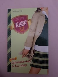 Gallagher Academy par Ally Carter livre