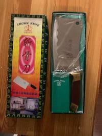 Crown Knife - Cleaver Knife - (Like-new in box) Mississauga