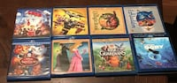 Disney, Dreamworks and Warner Brothers Blu-Ray & DVD Movie Lot of 8 Augusta, 30909