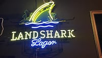 Land Shark Lager neon signage Brownsville, 78520