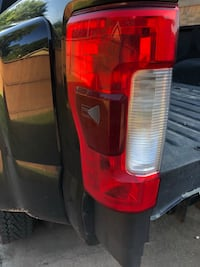 2017 F350 Tail Lights w/Blind Spot Cypress, 77429