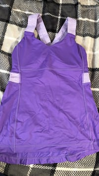 Purple v-neck sleeveless mini dress Calgary, T2A 6W1