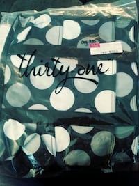 Thirty One zip top organizing utility tote Middle River