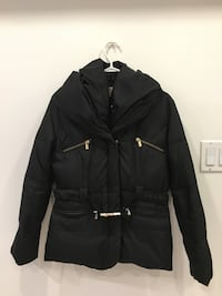 MICHAEL KORS Hooded Black Belted Puffer Jacket: Size Small Toronto, M1S 2Y8