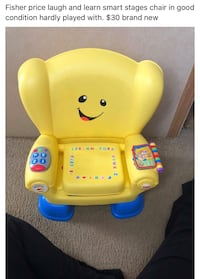 Fisher price chair  Ohatchee, 36271