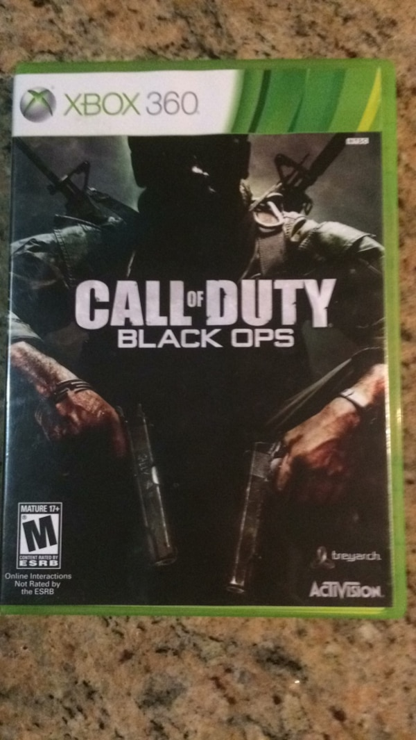 Call of Duty Black Ops (Black Ops)