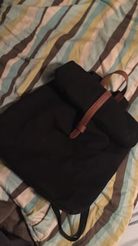 black and brown leather backpack Fort Valley, 31030
