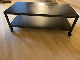 Metal black table