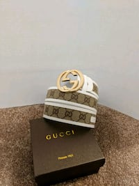 White/Brown Gucci Belt Mississauga, L5B 2C9