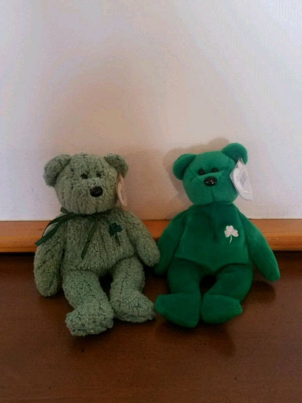 Used St. Patrick s Day Beanie Babies for sale in Souderton - letgo 80fdc5bd4cd