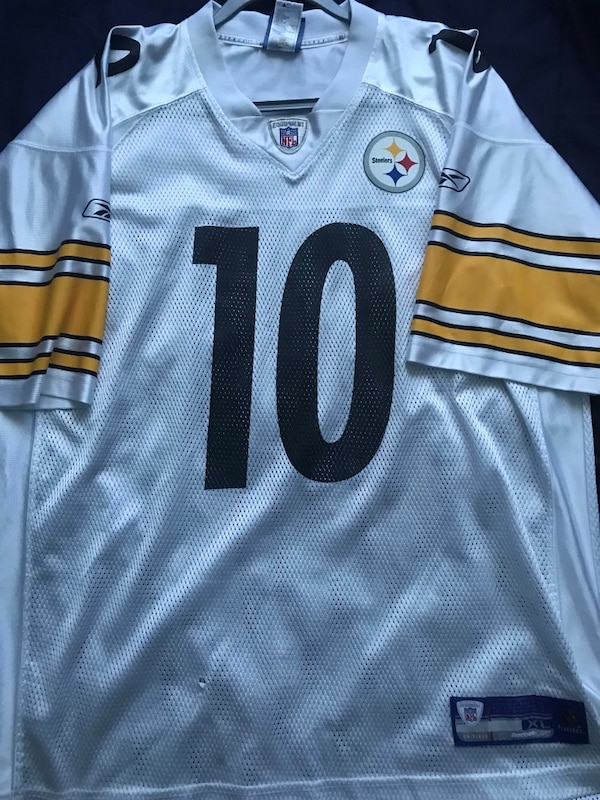 sneakers for cheap c27a3 3073e Santonio Holmes Pittsburgh Steelers Football Jersey