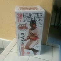 2017 Hunter Pence bobblehead box
