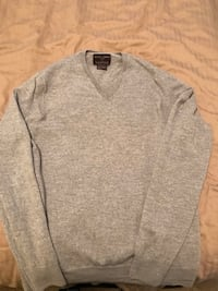 Grey Merino Wool Sweater - Large 3486 km