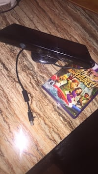 black Xbox 360 game console with game case St. Louis, 63116