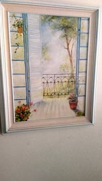 Canvas painting framed Houston, 77042