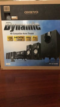 Onkyo 7.1 home theater system Ashburn, 20148