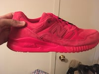 Pair of red New Balance size 11 Washington, 20032