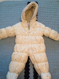 6-9 month infant snowsuit