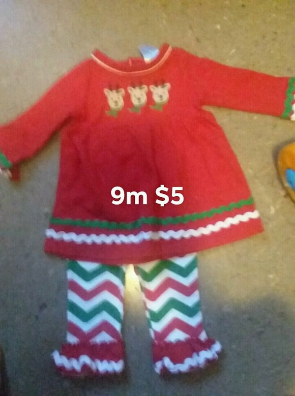 d57171f33 9/12/18 months baby girl clothes