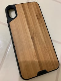 Real Mous Protective Bamboo case for iPhone Xs MAX Herndon, 20170