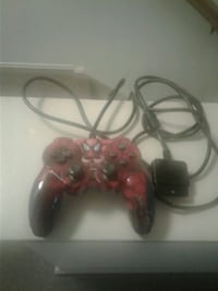 red and black corded game controller Easton, 18042