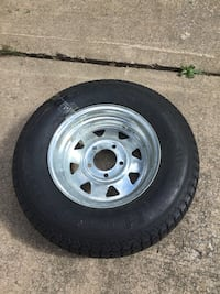 Trailer Tire with Rim Overland Park, 66207