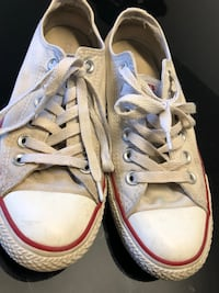 pair of white Converse All Star low-top sneakers Saint-Eustache, J7P