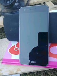 black LG android smartphone with box Red Deer, T4N 6A6