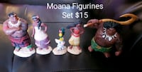 Moana Figurines Set - $15 Toronto, M9B 6C4