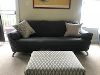 Microfiber Italian 3 seater sofa and chair  Gaithersburg, 20878