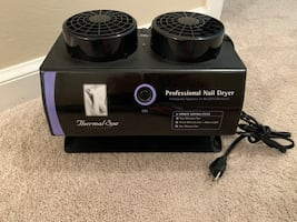 Thermal Spa Professional Automatic Black Light Nail Dryer