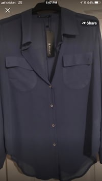 XL long sleeve dress shirt.