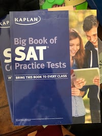 NEW Kaplan SAT Tests & Solution Manual Laurel, 20723