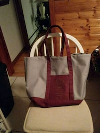 GREY/BURGUNDY CARRY ALL BAG  Glen Burnie, 21061