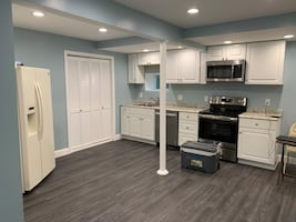 Newly renovated one bed room with all the utilities included with internet also.