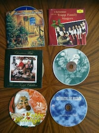 $10 for 6 Christmas music CDs Toronto