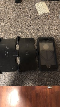 IPhone 7 Otterbox with 2 belt clips Dublin, 24084