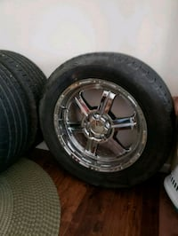 20 inch rims with tires Rouses Point, 12979