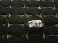 Size 9 stainless steel rings