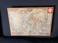 World map 4000 pieces puzzle